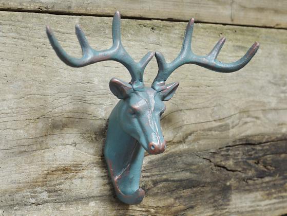 Green Stag Decorative Key/Jewellery Holder