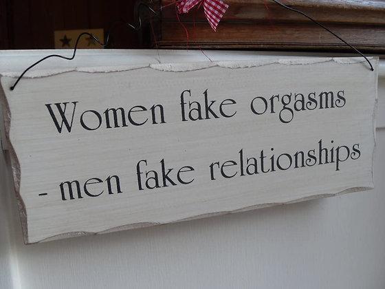 Women fake orgasms Sign