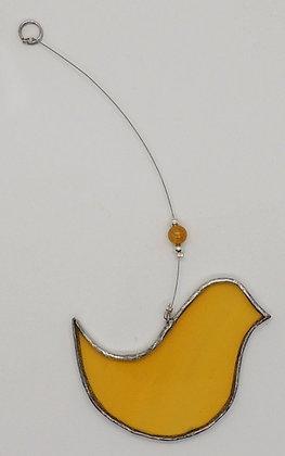 Yellow Hanging Bird