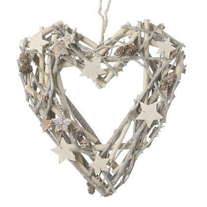 Twig Heart Wreath