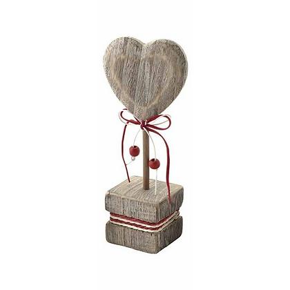 Heart Wooden Ornament