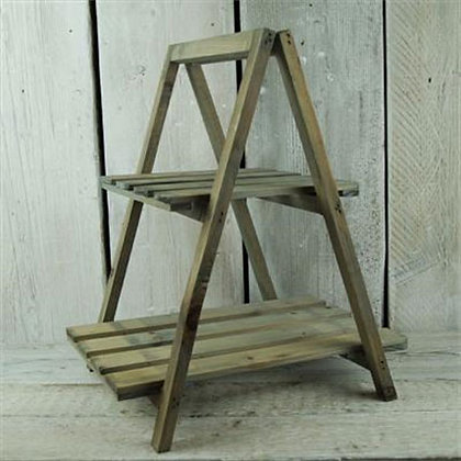 Wooden A Frame Display Stand