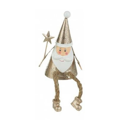 Sparkly Santa with Star