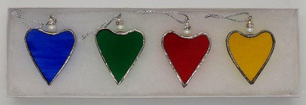 Rainbow Hearts Dec Set