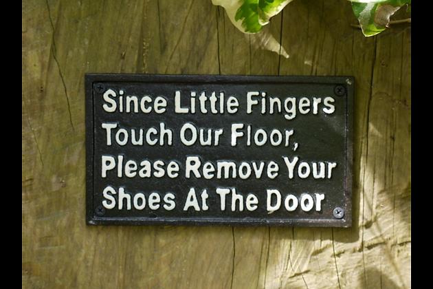 Little Fingers Plaque