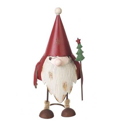 Metal Santa Metal Bobble