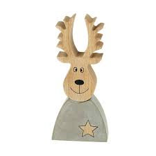 Concrete Small Reindeer