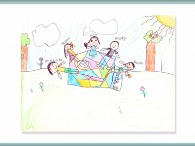How Are The Drawings From Children Who Have Cleansed Their Minds Different?