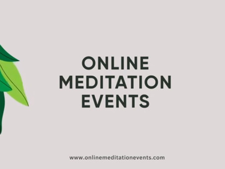 Join Our 8 Free Live Online Meditation Events!
