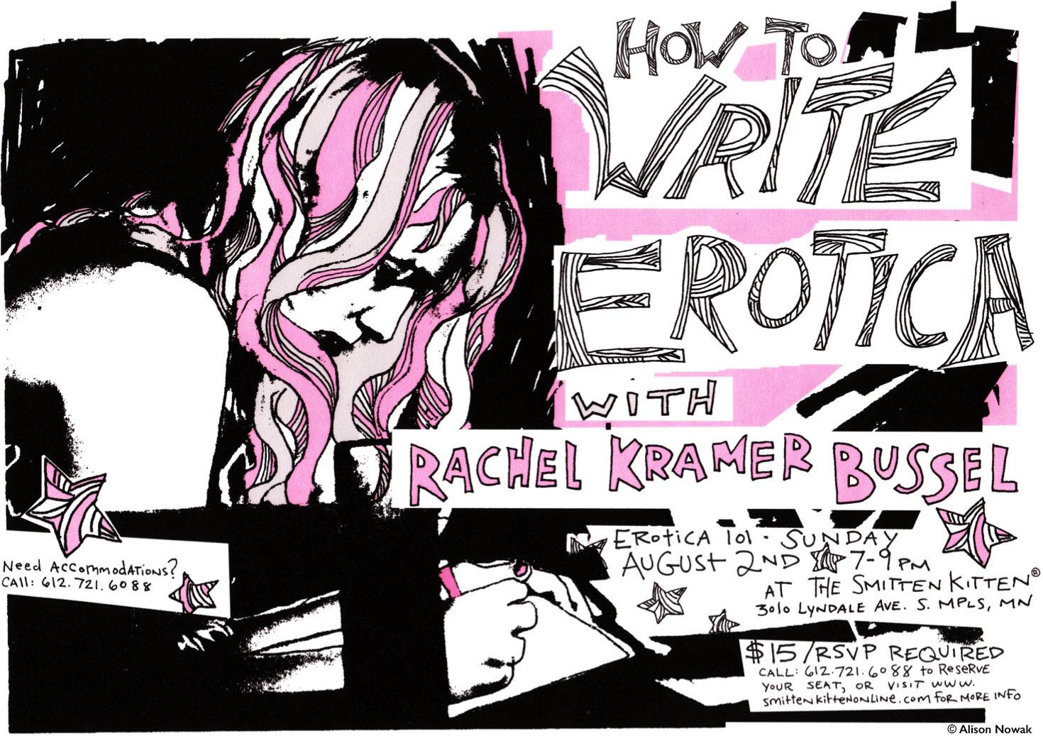 How to Write Erotica
