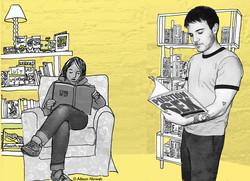 Smitten Kitten Reading Room