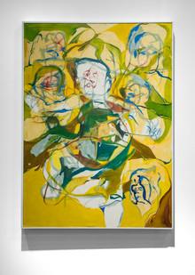 Chemu Ng'ok | Liberation | Oil on Canvas | 150 x 110 cm