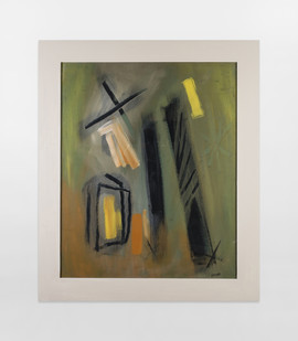 Charles Gassner   Untitled   n.d.   Mixed Media on Paper   71 x 58 cm