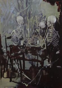 Kate Gottgens | Last Round | 2015 | Oil on Canvas | 120 x 85 cm