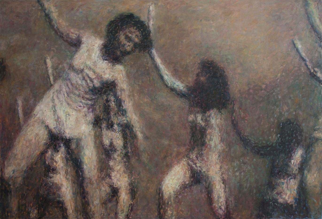 Anton Karstel | /1939-Glaube-und-Schoenheit (I) | 2014 | Oil on Canvas | 170 x 250 cm