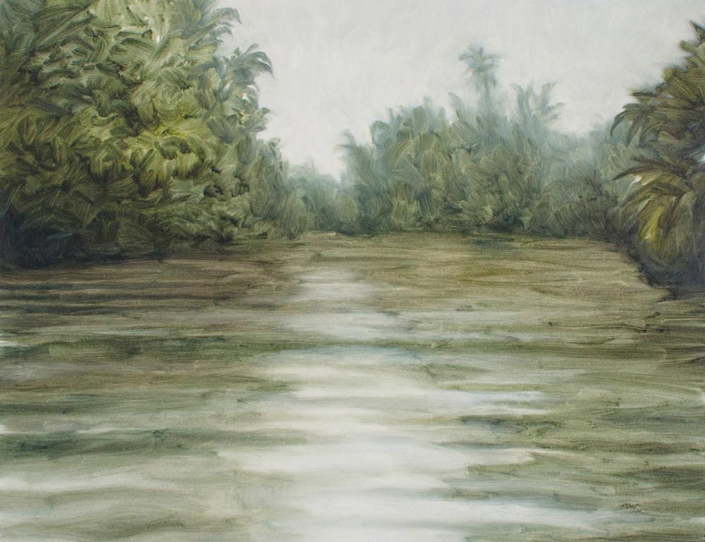 Jake Aikman | N10.857141, W85.77031 | 2013 | Oil on Paper | 31 x 40 cm