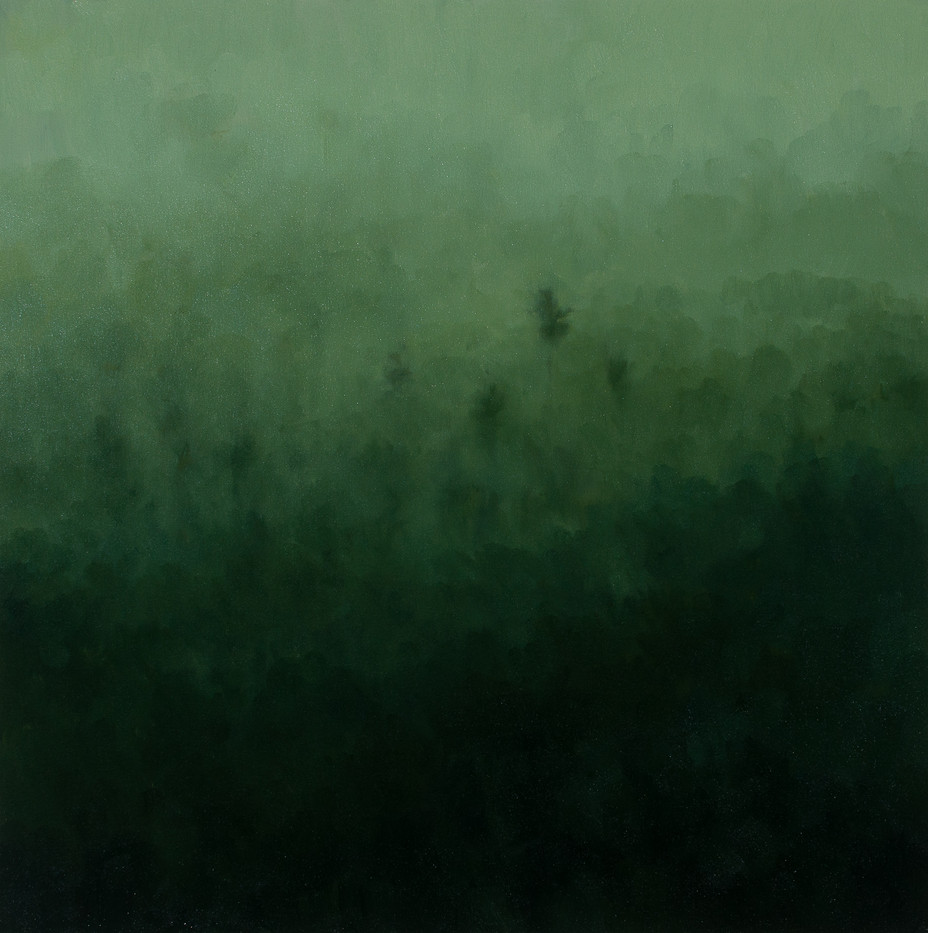 Jake Aikman   S10.209, E120.410   2013   Oil on Canvas   70 x 70 cm