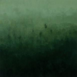 Jake Aikman | S10.209, E120.410 | 2013 | Oil on Canvas | 70 x 70 cm