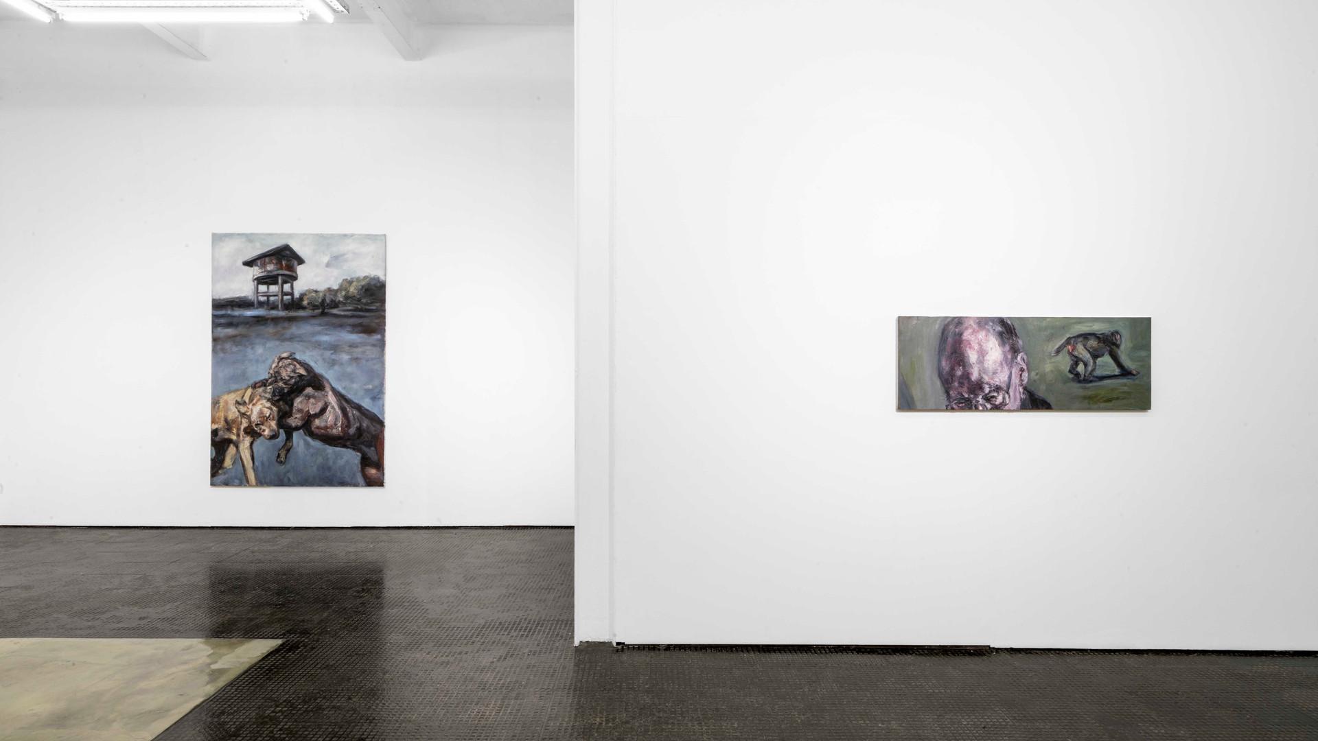 Johann Louw | Artist Room | 2020 | Installation View
