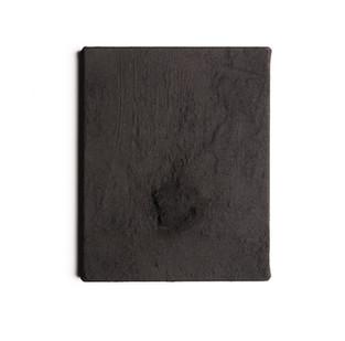 Alexandra Karakashian | Purge (Sketch I) | 2016 | Black Pigment on Canvas | 25.5 x 21 cm