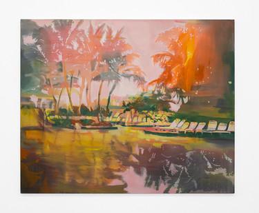 Kate Gottgens | Hot as Hell | 2020 | Oil on Canvas | 125 x 150 cm