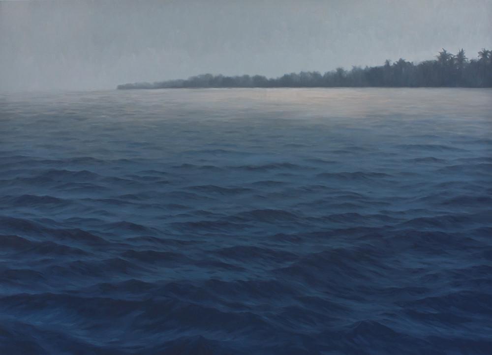 Jake Aikman | N10.871913, W85.902126 | 2013 | Oil on Canvas | 147 x 205 cm