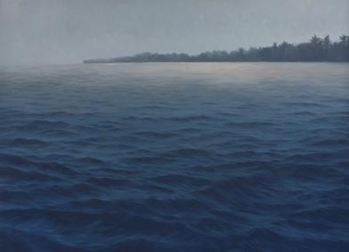 Jake Aikman   N10.871913, W85.902126   2013   Oil on Canvas   147 x 205 cm