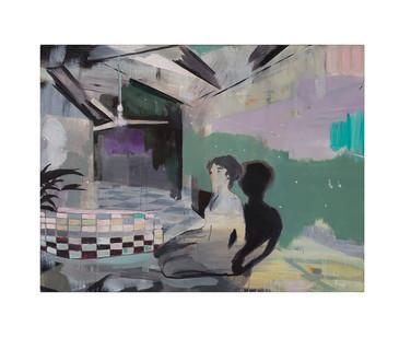Kate Gottgens | Vanish | 2017 | Oil on Canvas | 115 x 150 cm