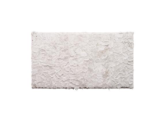 Wallen Mapondera   Tuck Shop 2   2019   Toilet Paper on Wooden Frame   171.5 x 95 x 9 cm