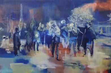 Kate Gottgens | Zeitgeist | 2015 | Oil on Canvas | 135 x 205 cm
