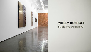 WILLEM BOSHOFF    Reap the Whirlwind