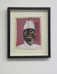 Themba Shibase | Rascal II | 2017 | Oil on Canvas | 29 x 24.5 cm