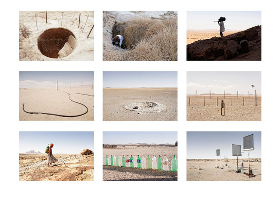 Margaret Courtney-Clarke | Water Series: Methods for collecting life-sustaining fluid, Various locations in the Namib Desert | 2014 - 2017 | Giclée Print on Hahnemühle Photo Rag Paper | 27.5 x 41.5 cm Each | Edition of 6 + 2 AP