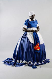 Mary Sibande | They Don't Make Them Like They Used To | 2008 | Archival Digital Print | 86 x 130 cm | Edition of 10 + 3 AP