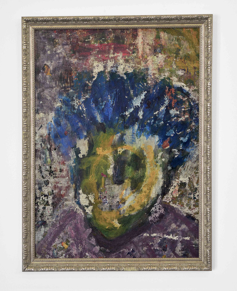Mostaff Muchawaya | Mai Wemuraini | 2017 | Acrylic on Canvas | 99.5 x 75.5 cm