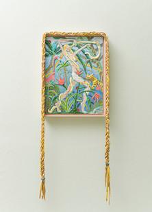 Marlene Steyn   Alfrescolada   2018   Oil on Linen Board   40 x 30 cm