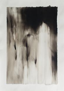 Alexandra Karakashian | Split IV | 2016 | Oil on Paper | 76 x 56 cm