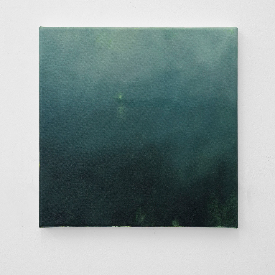 Jake Aikman | Study for Beacon | 2016 | Oil on Canvas | 30 x 30 cm