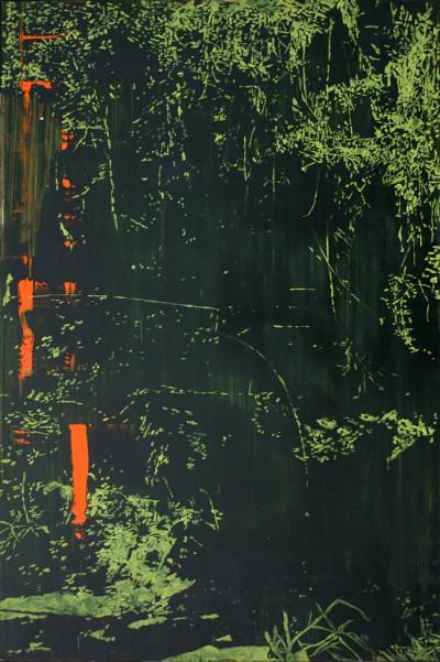 Peter Eastman | Deep Chine X | 2014 | Oil on Aluminium | 74 x 50 cm