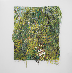 Gabrielle Kruger   Outgrowth II   2018   Acrylic on Canvas   122 x 152 cm