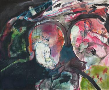 Chemu Ng'ok | Untitled | 2015 | Oil on Canvas | 100 x 120 cm