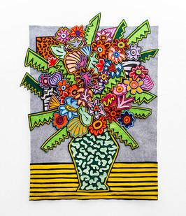Jody Paulsen | Sophomore | 2018 | Felt Collage | 109 x 80 cm