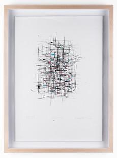 Mongezi Ncaphayi | Eclectisism | 2008 | Screen Print | 50 x 35.5 cm