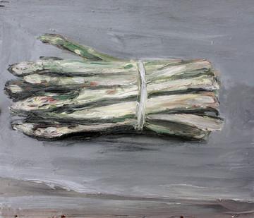 Johann Louw | Aspersies | 2012 | Oil on Board | 37 x 42 cm