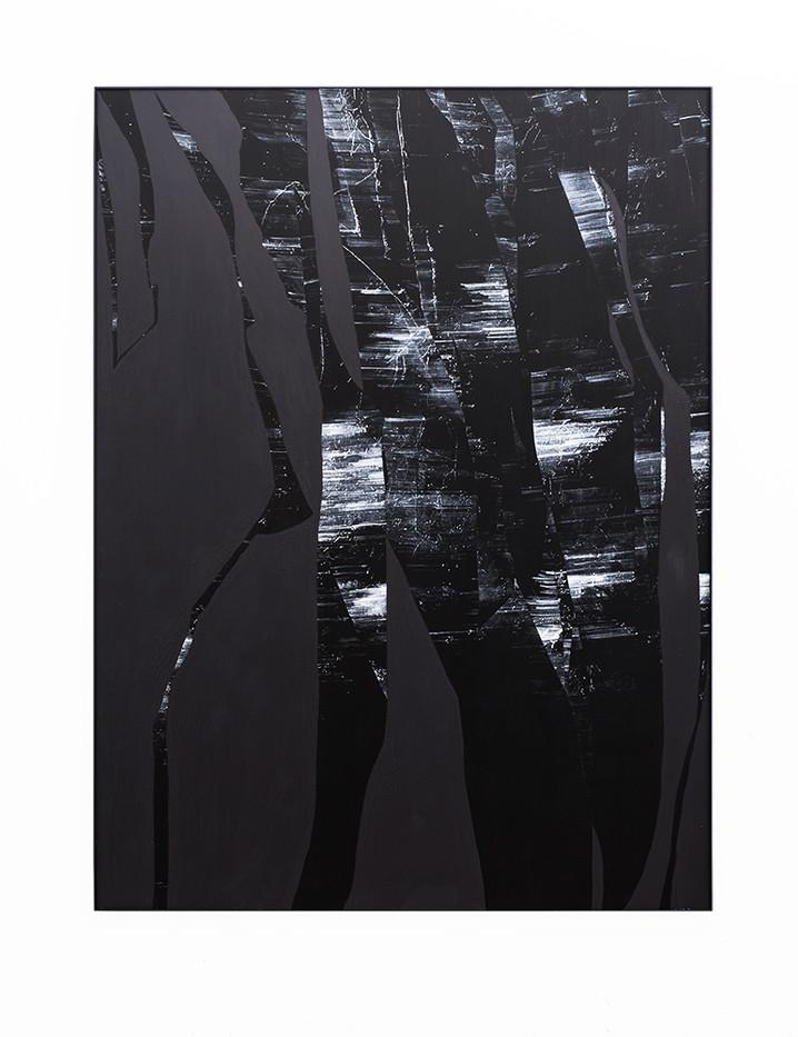 Peter Eastman   Early Split   2018   Oil on Aluminium   184.5 x 149.5 cm