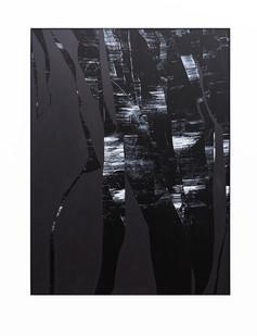 Peter Eastman | Early Split | 2018 | Oil on Aluminium | 184.5 x 149.5 cm