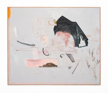 Jeanne Hoffman | Window | 2018 | Acrylic on Board | 83 x 100 cm