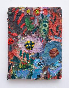 Georgina Gratrix | Study 2 | 2017 | Oil on Canvas | 40 x 30 cm