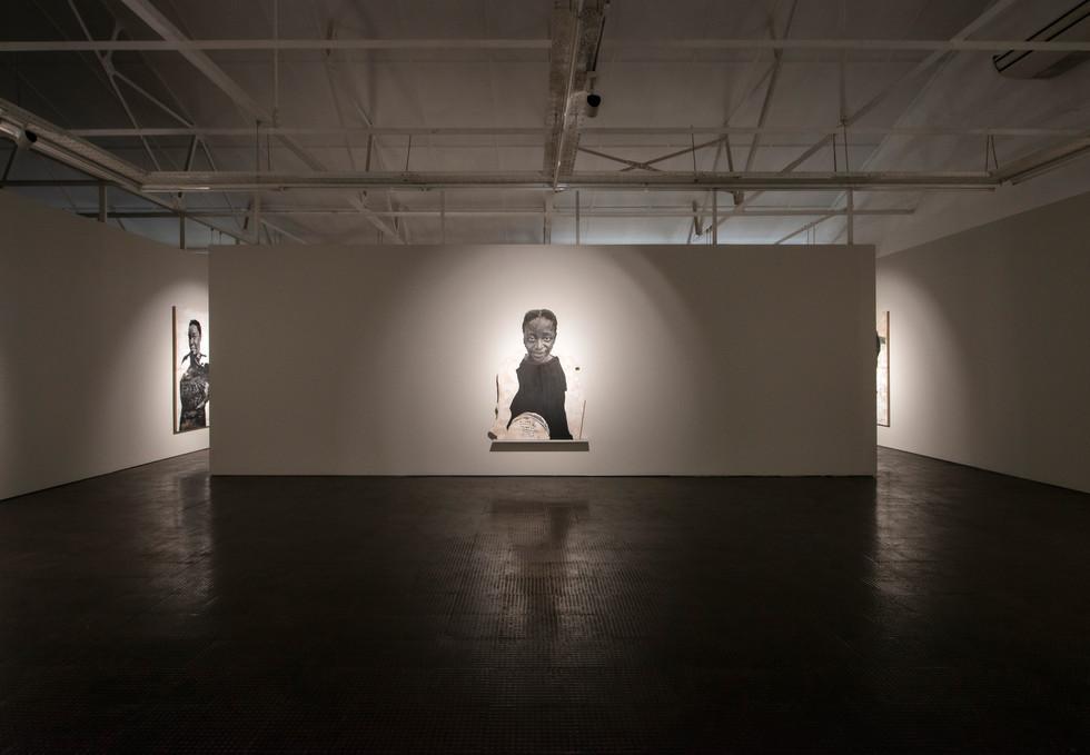 Luyanda Zindela | Abangani bami - Izithombe zami (My friends - Images of me) | 2021 | Installation View