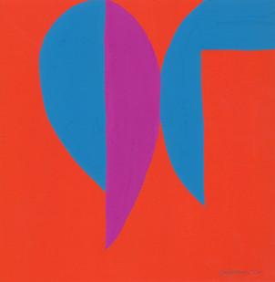 Trevor Coleman | Untitled | 1970 | Gouache on Paper | 42 x 30 cm